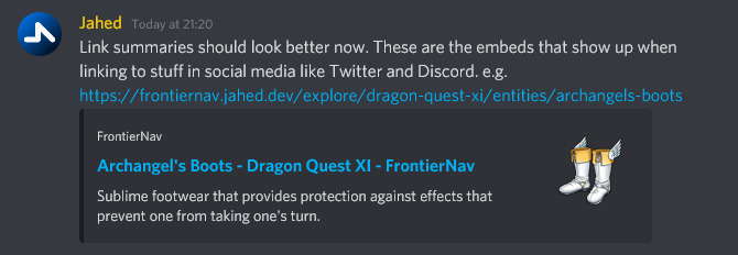 Link Preview on Discord